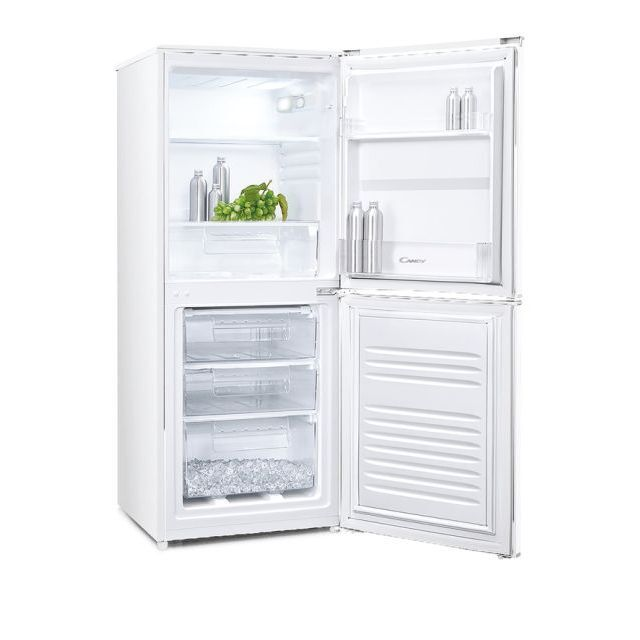 Candy CSC135WEKN Static Fridge Freezer