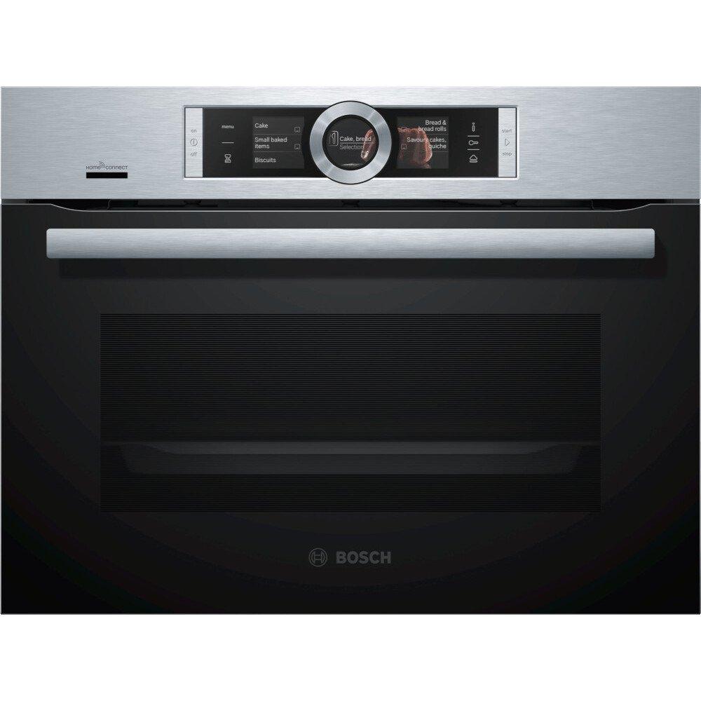 Bosch Serie 8 CSG656BS7B Steam Oven