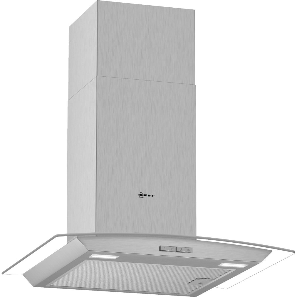 Neff N30 D64ABC0N0B 60cm Chimney Hood
