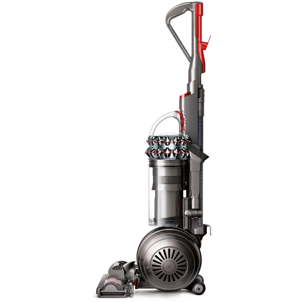 buy dyson cinetic big ball animal upright vacuum cleaner dc75erp satin red silver iron. Black Bedroom Furniture Sets. Home Design Ideas
