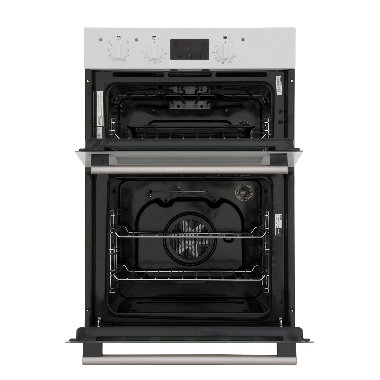 buy hotpoint dd2540wh double built in electric oven. Black Bedroom Furniture Sets. Home Design Ideas