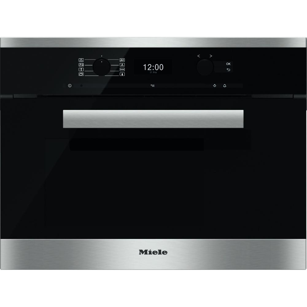 buy miele pureline dgc6400 cleansteel steam oven. Black Bedroom Furniture Sets. Home Design Ideas