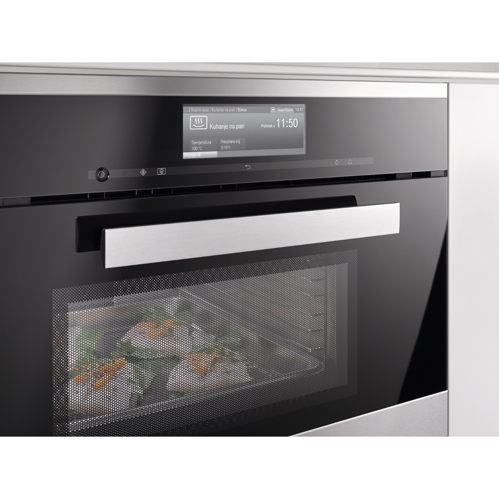 Buy Miele Pureline Dgm6800 Clean Steel Steam Oven With