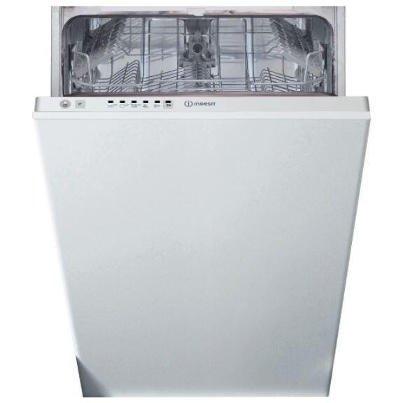 Indesit DSIE 2B10 UK N Built In Fully Int. Slimline Dishwasher