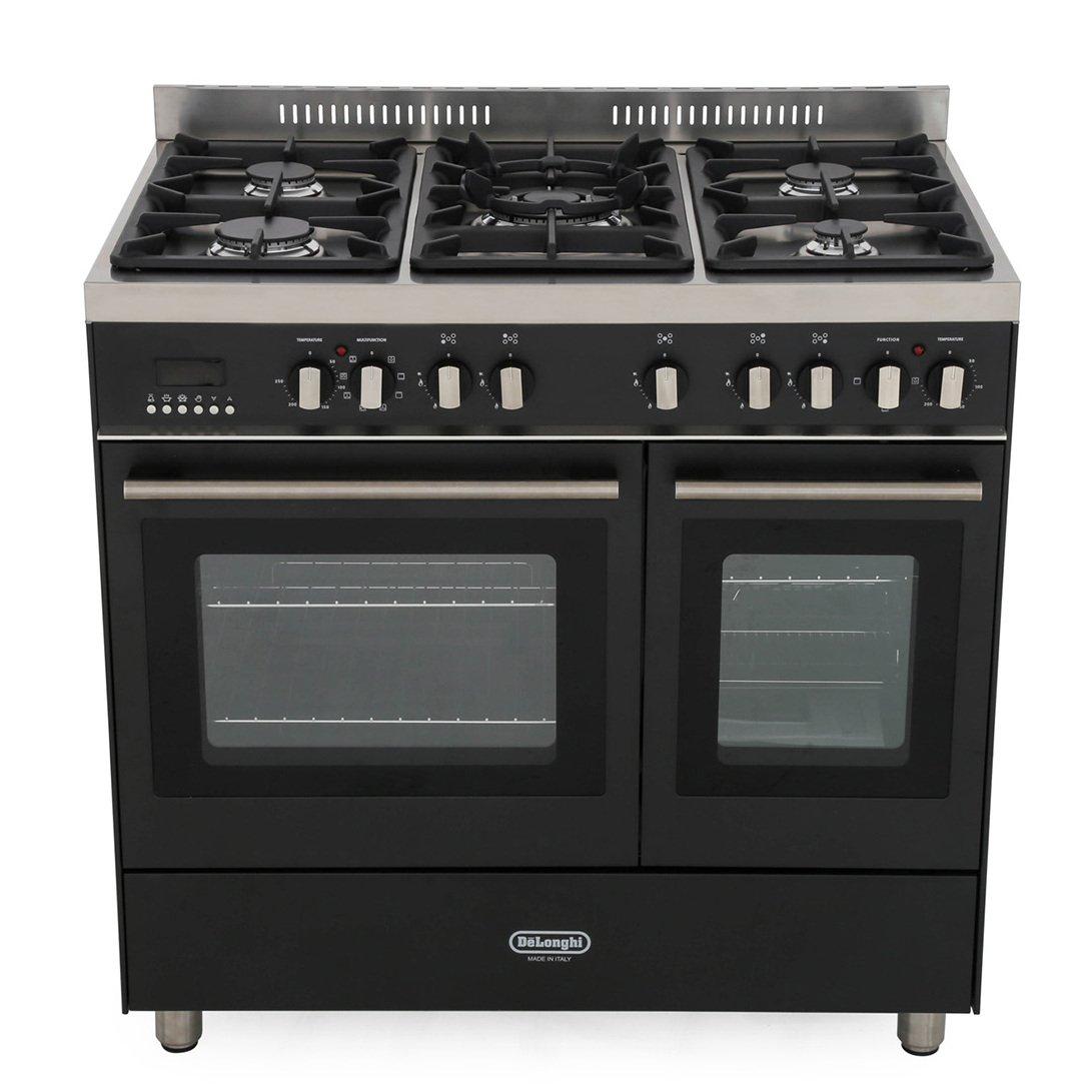 DeLonghi DTR 906-DF/AN 90cm Dual Fuel Range Cooker