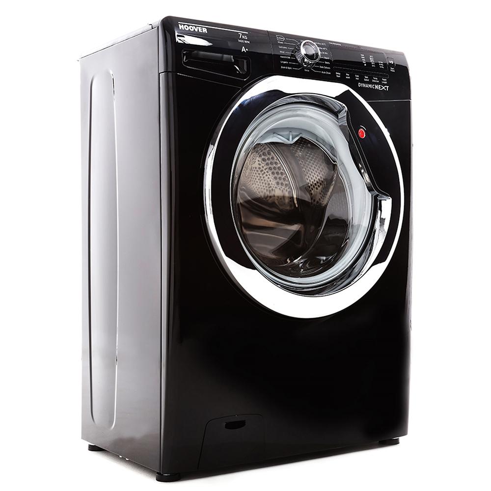 Buy Hoover Dxc4c47b1 Washing Machine Glossy Black