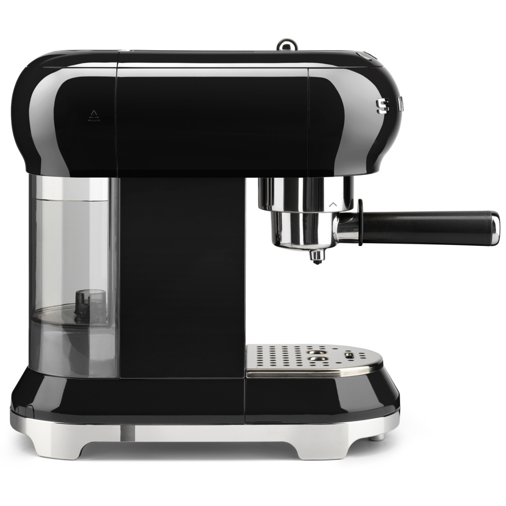 Buy Smeg ECF01BLUK Retro Espresso Coffee Machine - Black ...