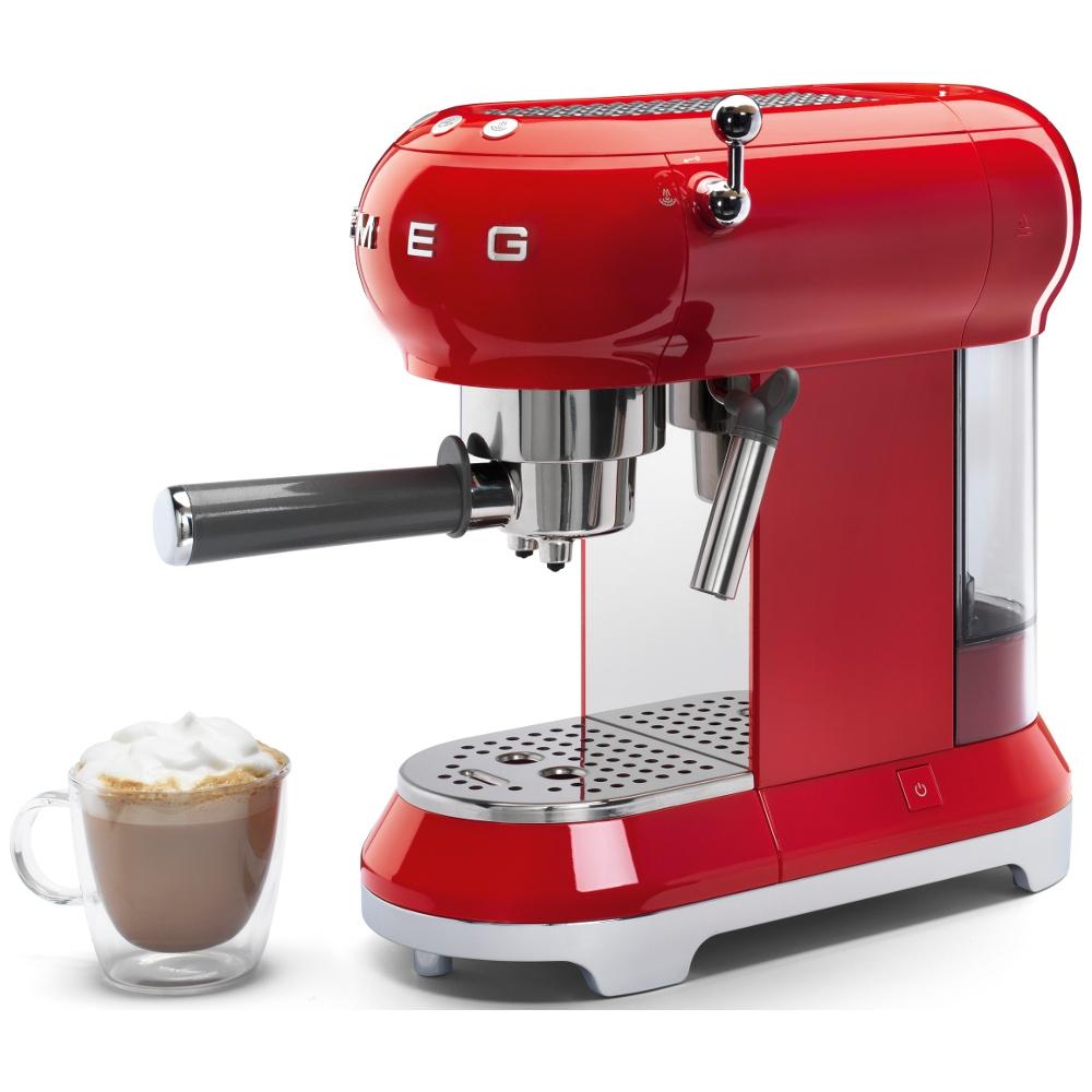 Buy Smeg ECF01RDUK Retro Espresso Coffee Machine - Red ...
