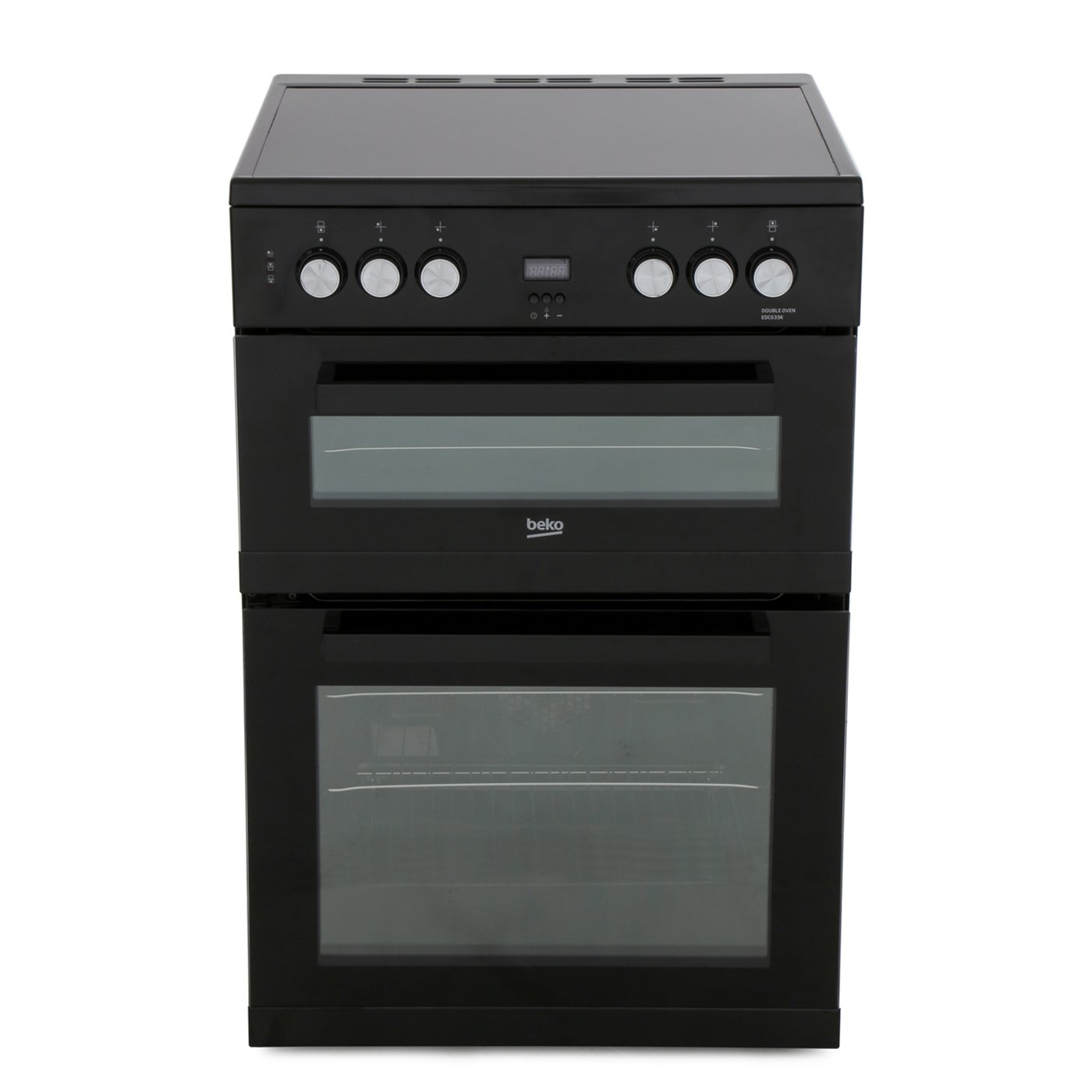 Beko EDC633K Ceramic Electric Cooker with Double Oven