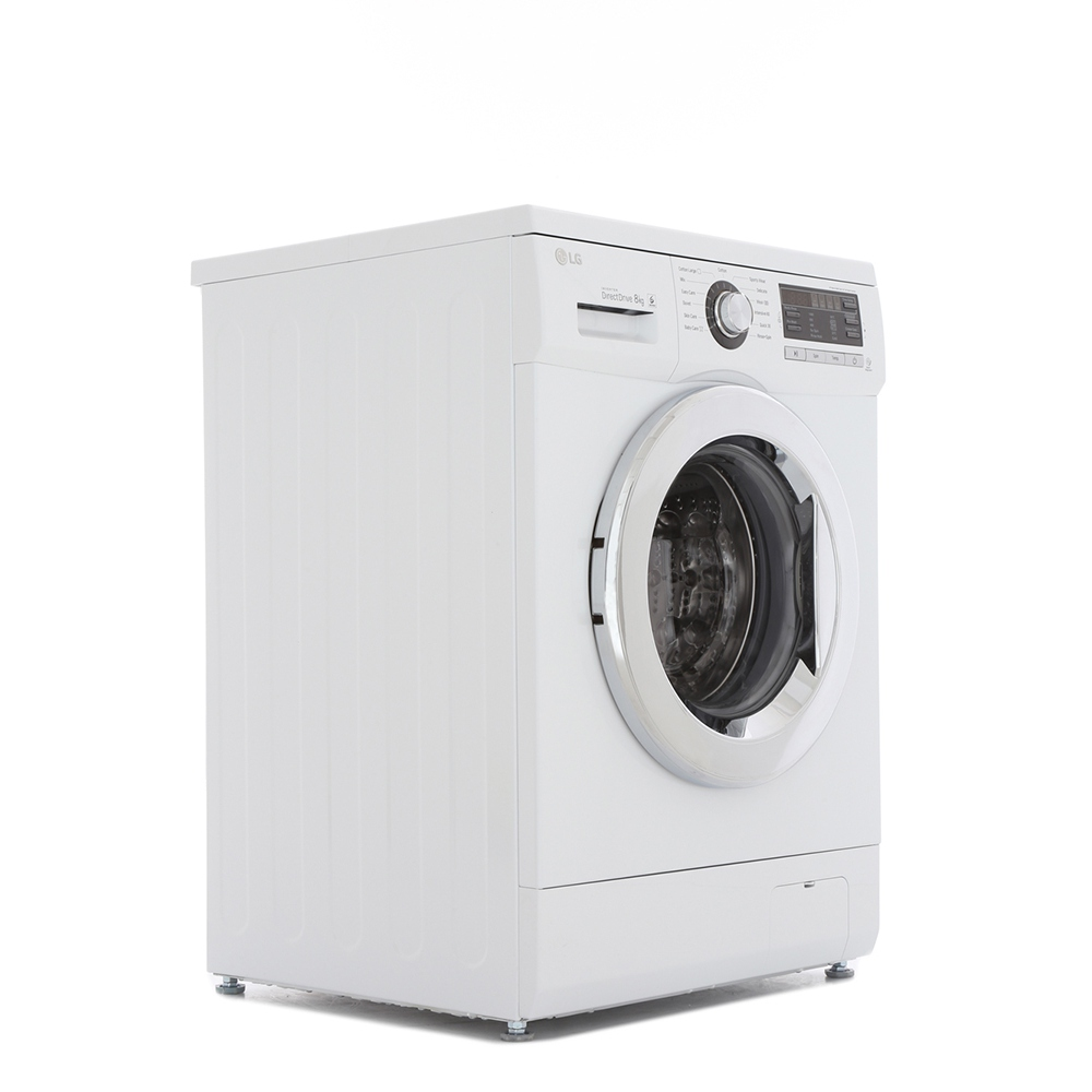 buy lg 6 motion direct drive f1496tda washing machine f1496tda white marks electrical. Black Bedroom Furniture Sets. Home Design Ideas