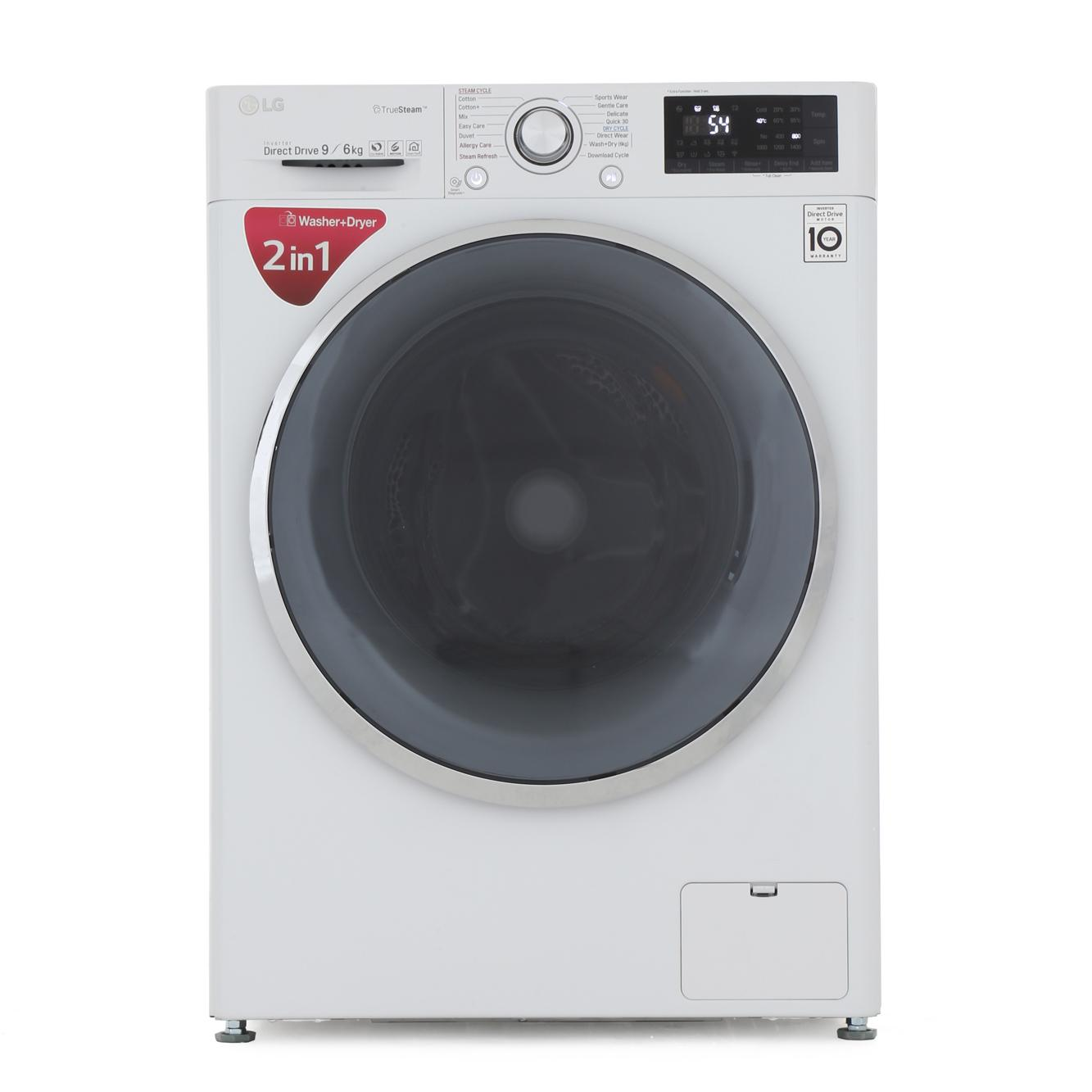 Buy Lg F4j8fh2w Washer Dryer White Marks Electrical