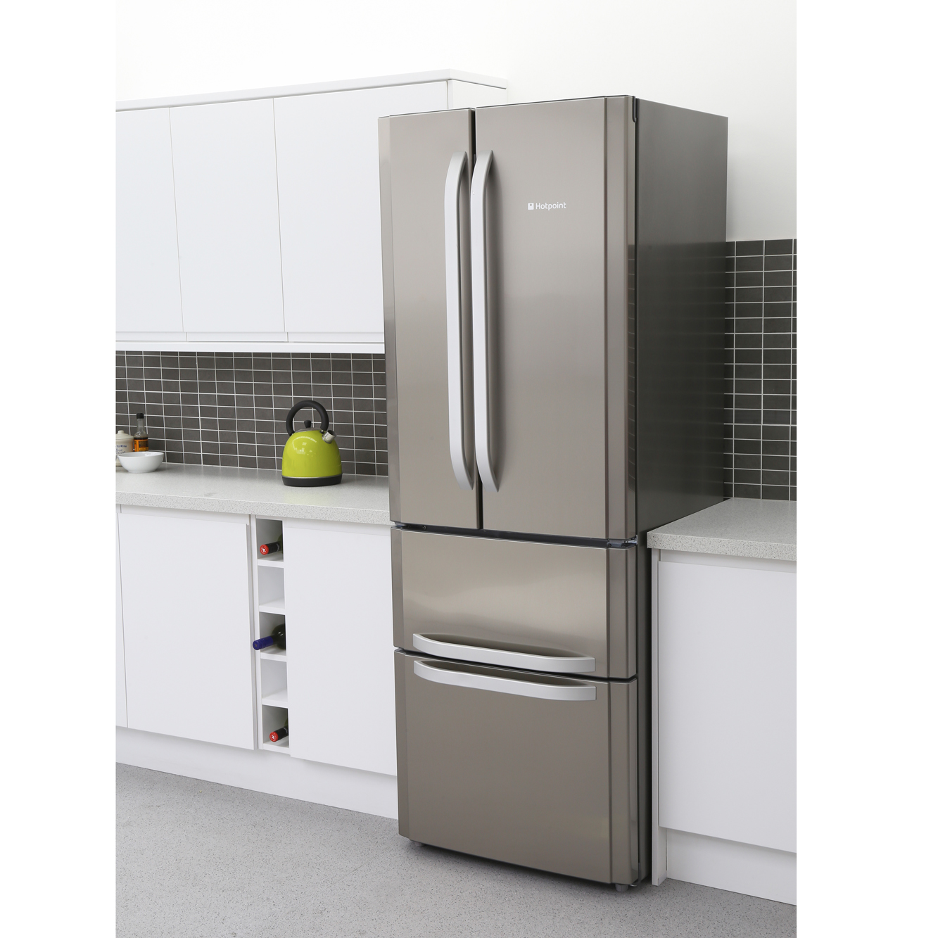 Buy Hotpoint FFU4DX American Fridge Freezer - Stainless