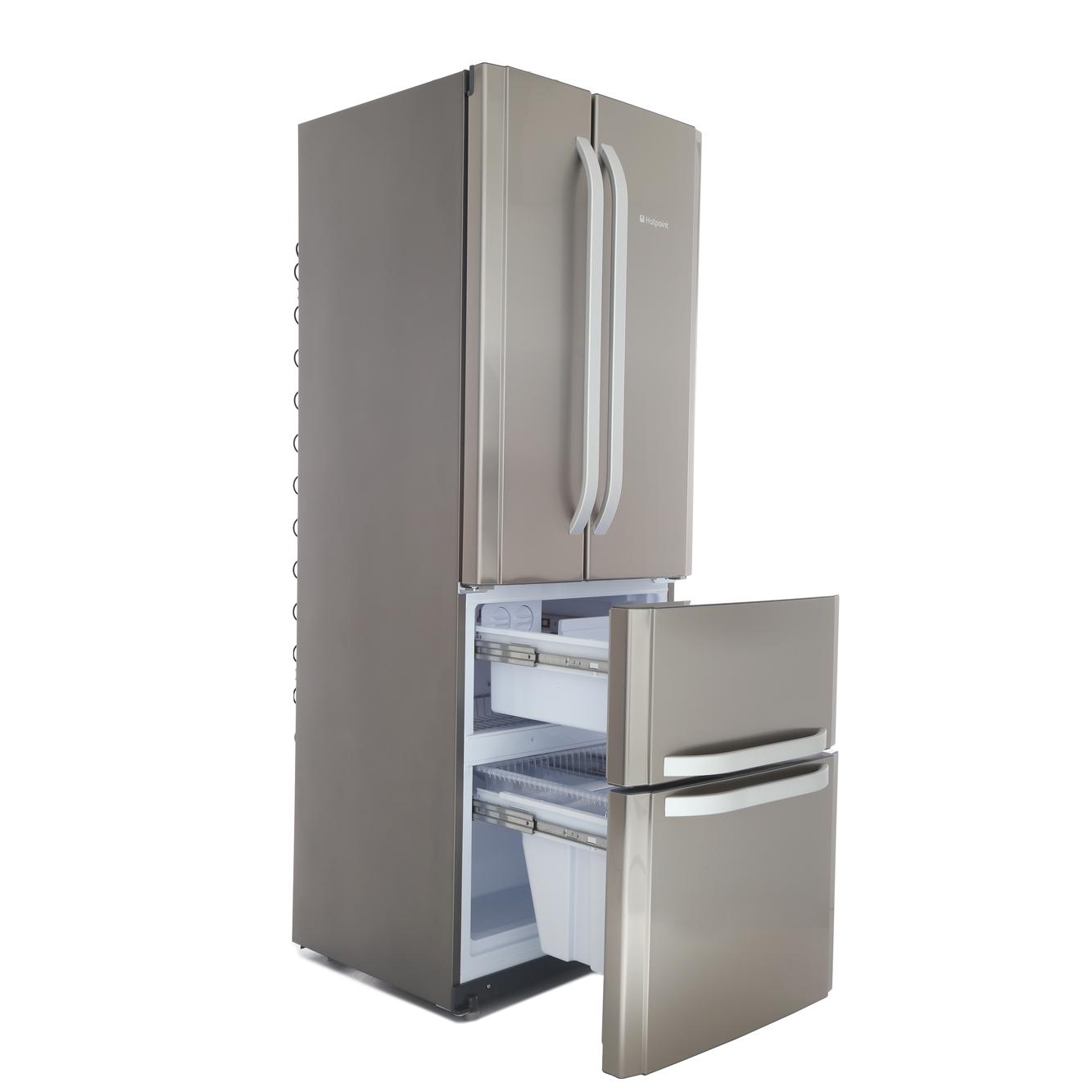 Buy Hotpoint Ffu4dx American Fridge Freezer Stainless