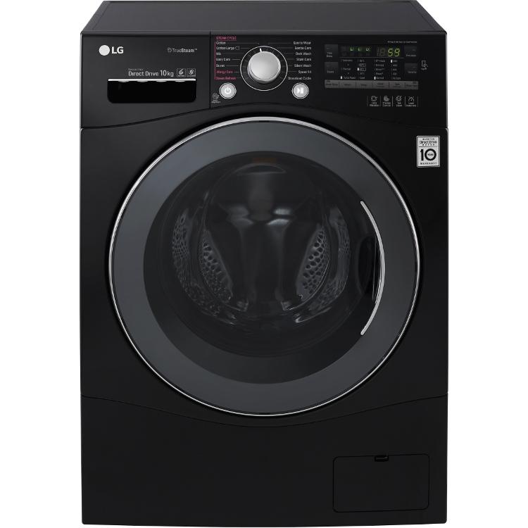 Buy Lg Fh4a8jds8 Black Washing Machine  Fh4a8jds8
