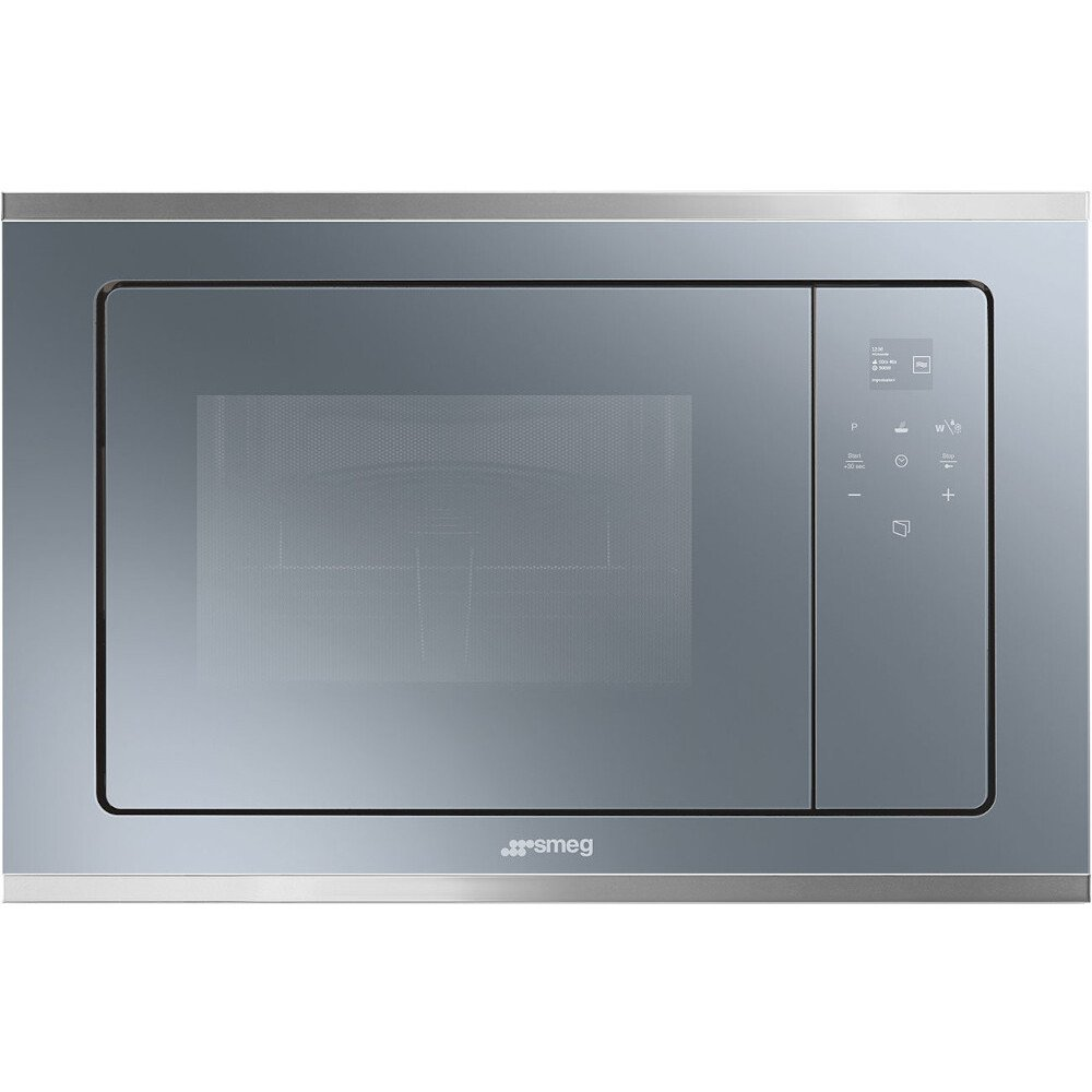 Smeg Cucina FMI420S2 Built In Microwave with Grill