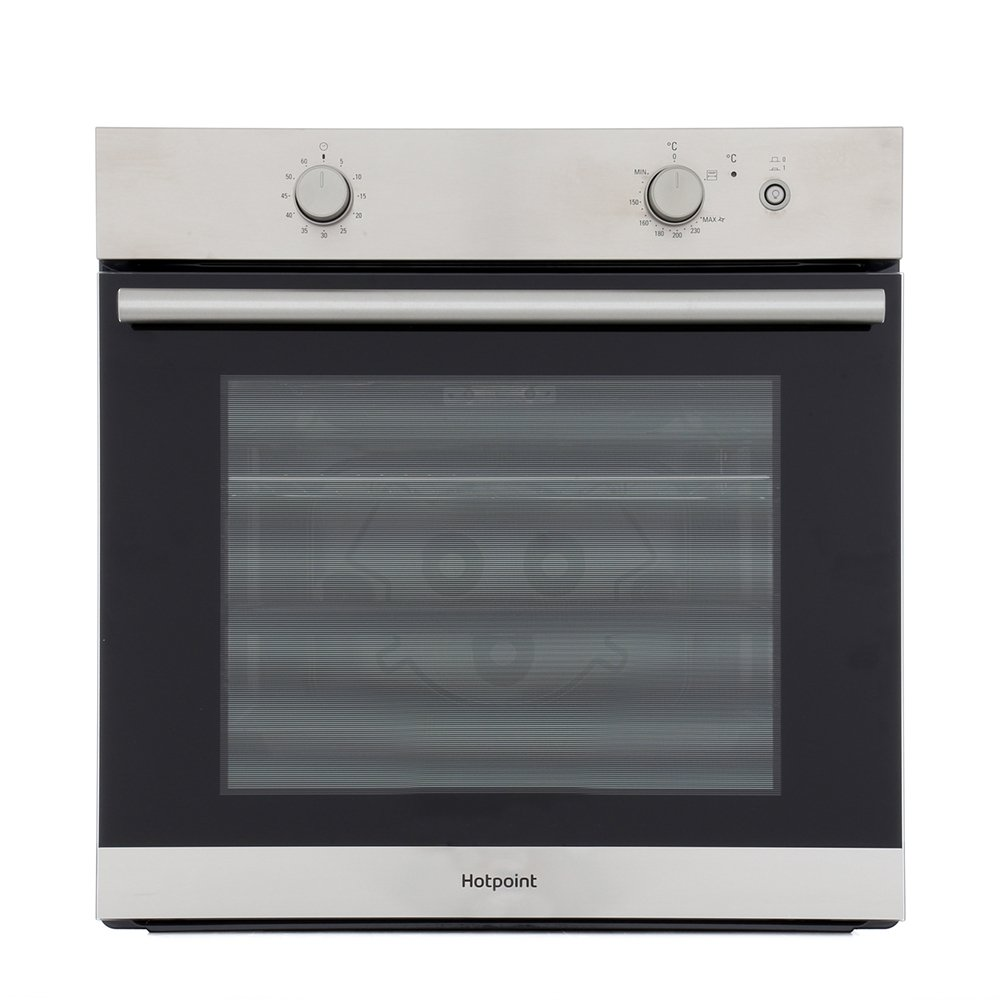 Hotpoint GA2 124 IX Single Built In Gas Oven