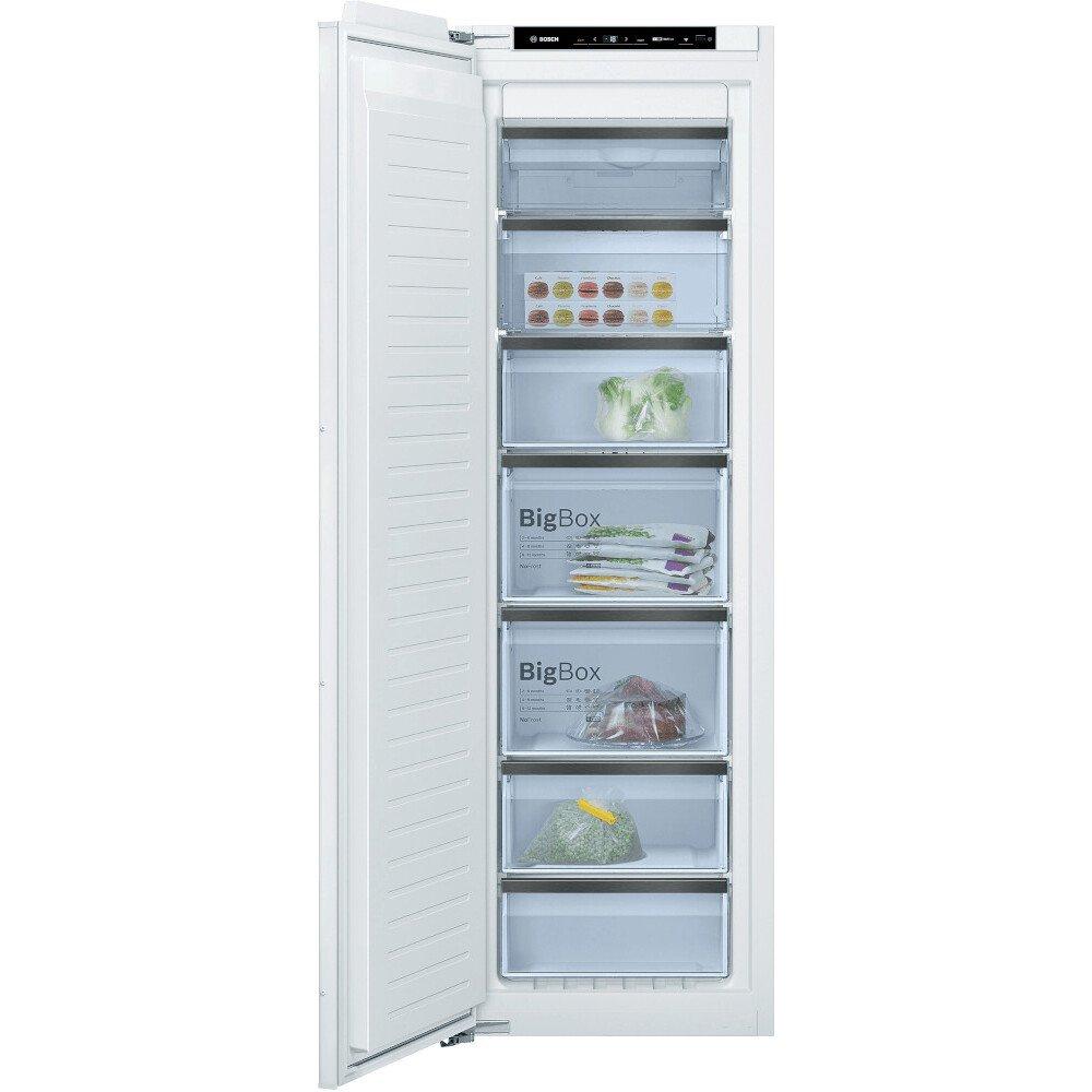Bosch Serie 8 GIN81HCE0G Frost Free Built In Freezer