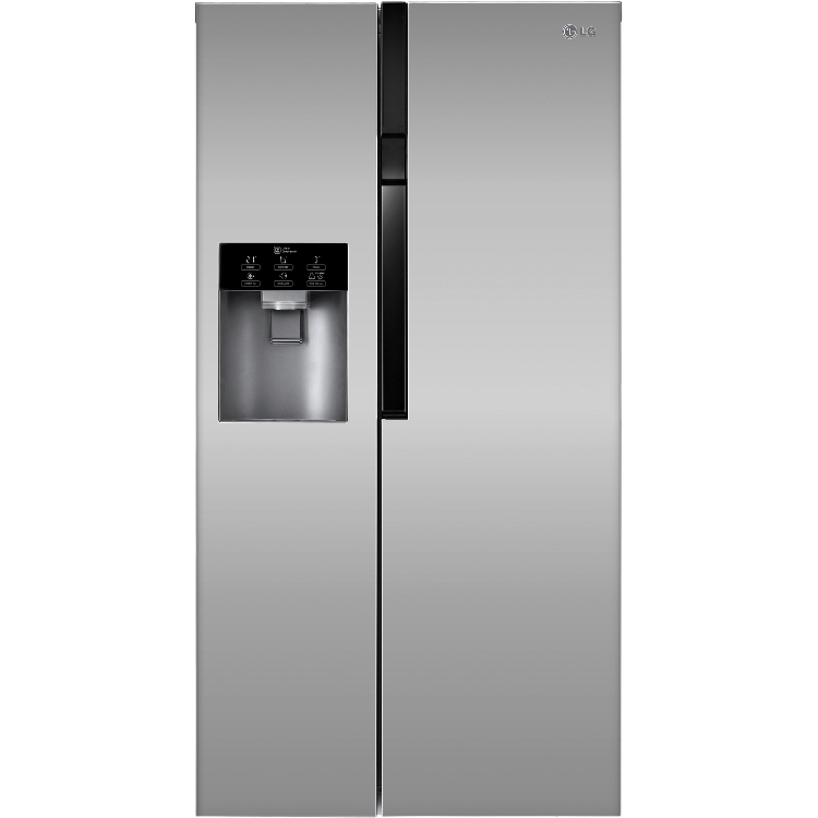 Buy Lg Gs9366pzyvl American Fridge Freezer Platimum