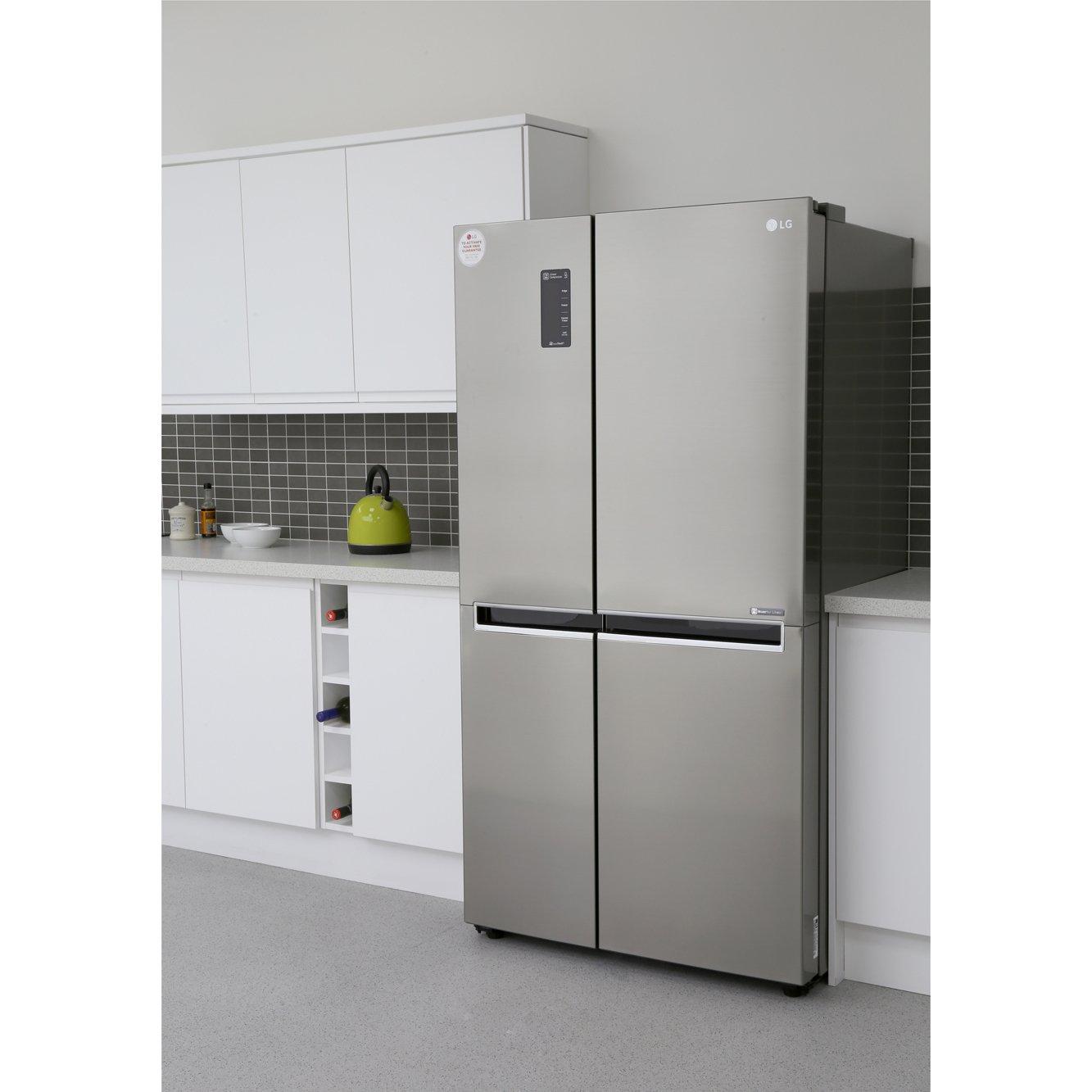 Buy Lg Gsb760pzxv American Fridge Freezer Stainless