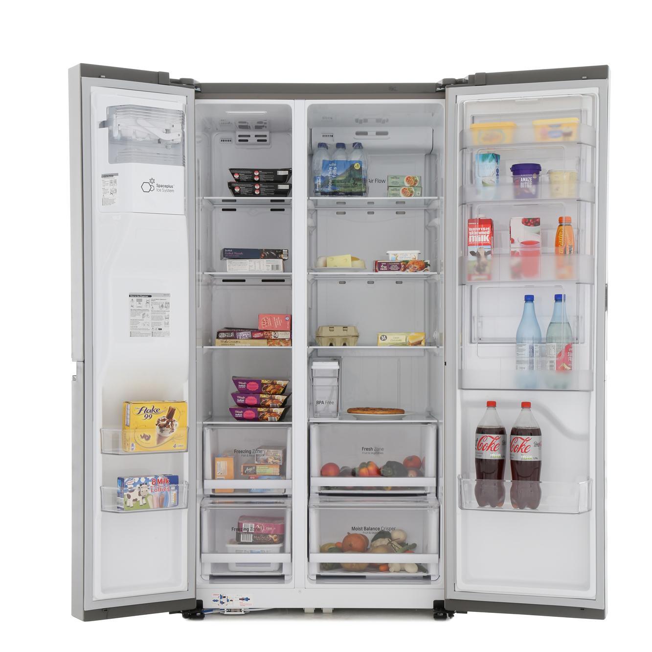 buy lg gsj761pzxv american fridge freezer