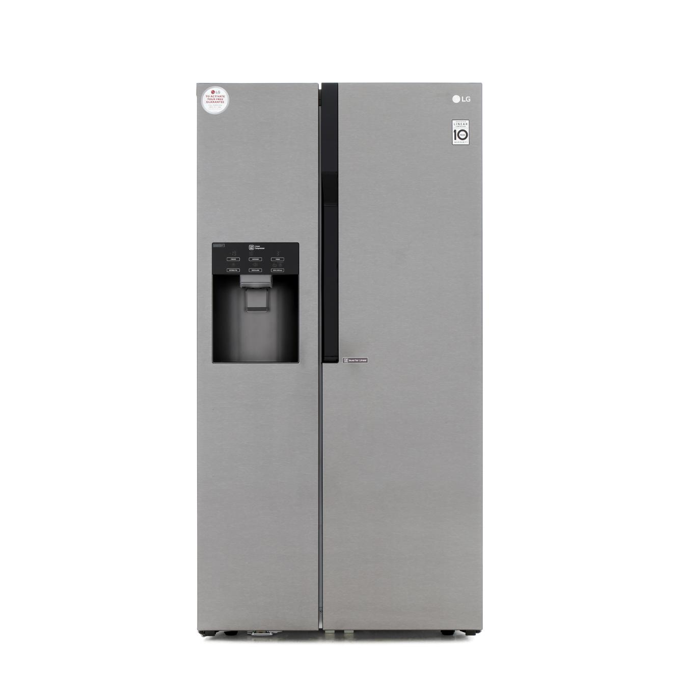 Buy Lg Gsl361icez American Fridge Freezer Dark Graphite