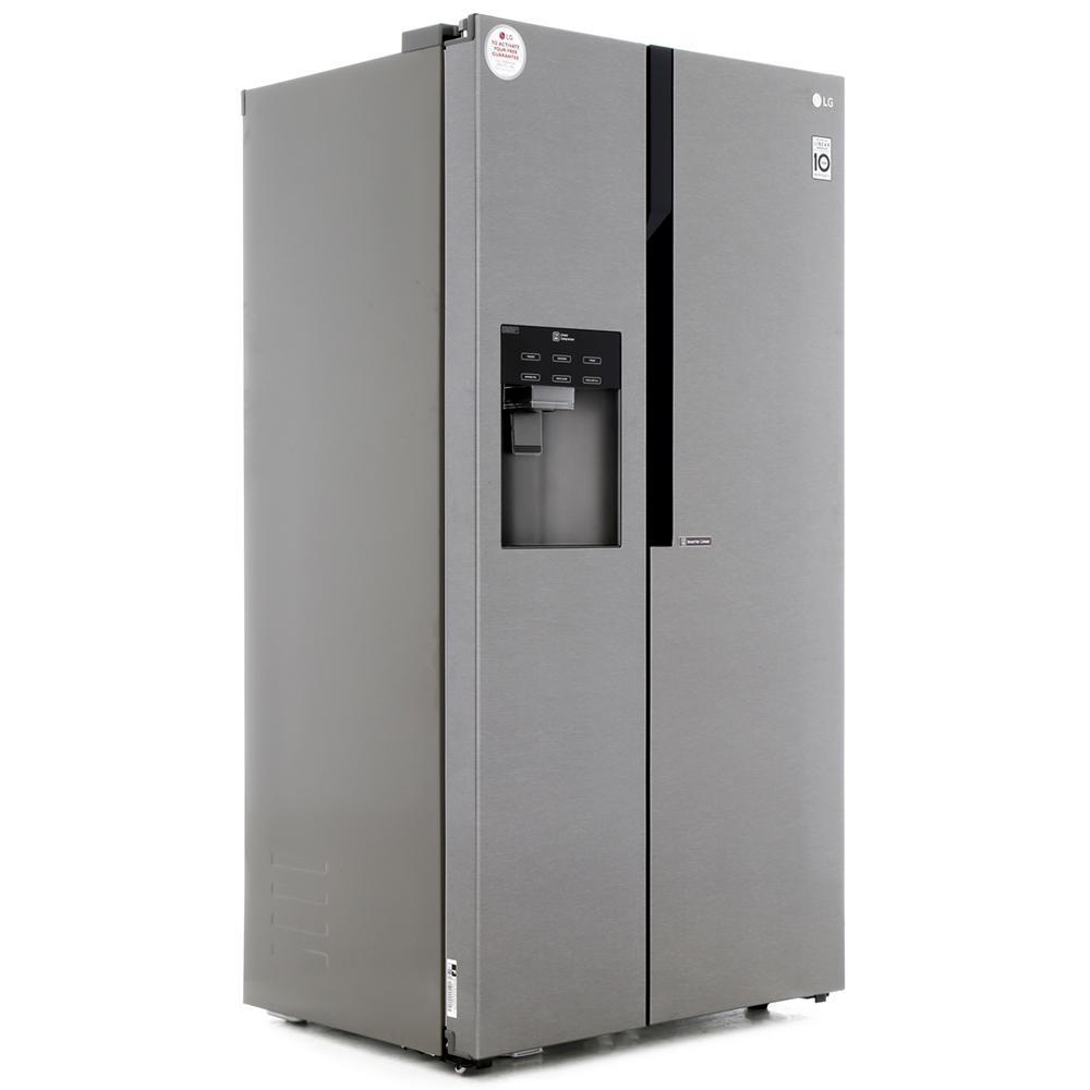 buy lg gslicez american fridge freezer dark graphite