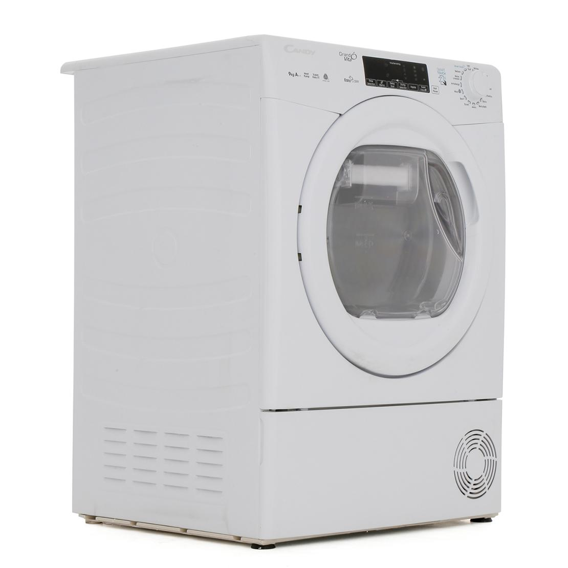 Candy GSVH9A2TE Condenser Dryer with Heat Pump Technology