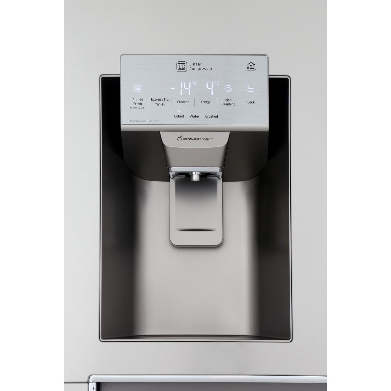 buy lg instaview door in door gsx961nsaz american fridge freezer gsx961nsaz stainless steel. Black Bedroom Furniture Sets. Home Design Ideas