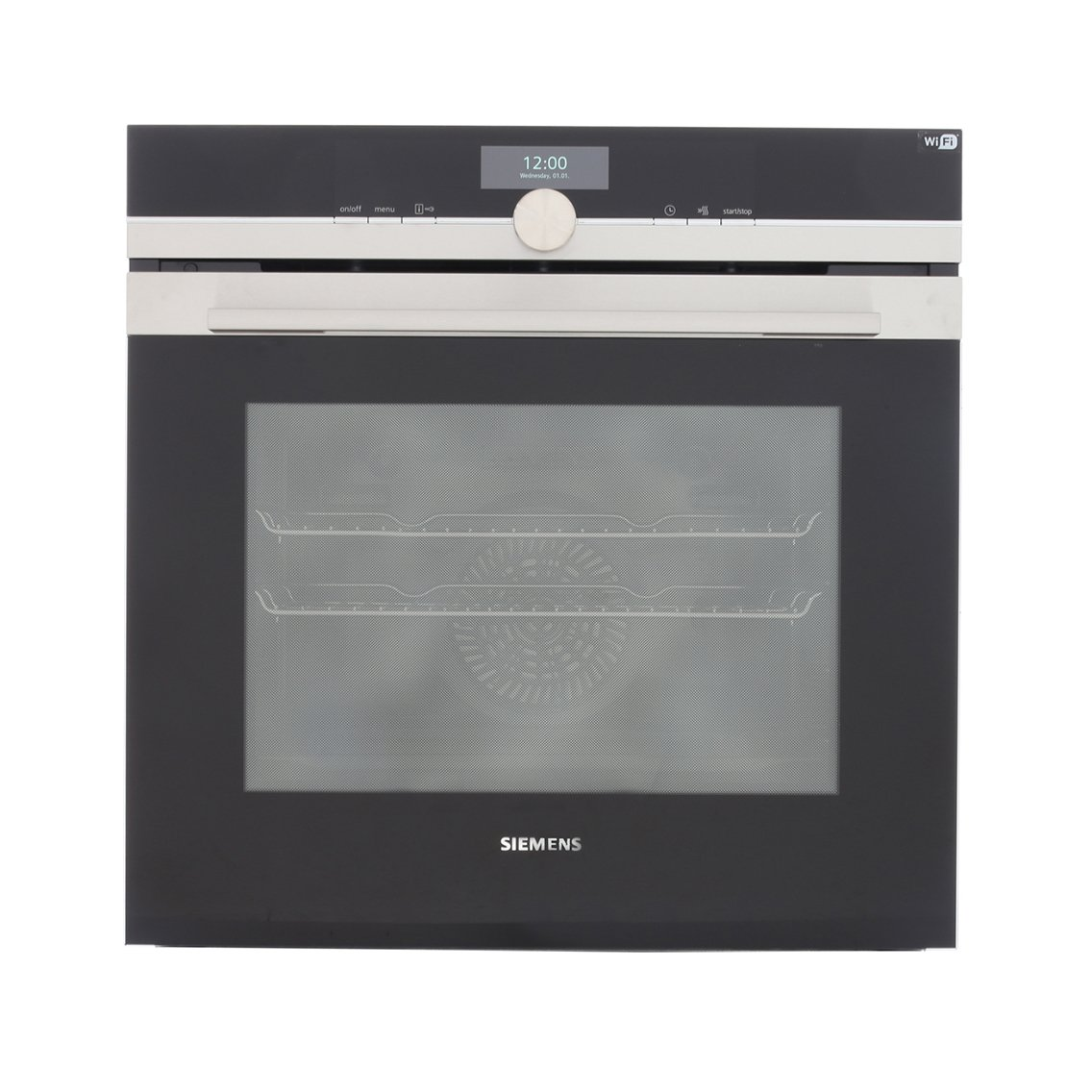 buy siemens iq700 hb676gbs6b single built in electric oven. Black Bedroom Furniture Sets. Home Design Ideas