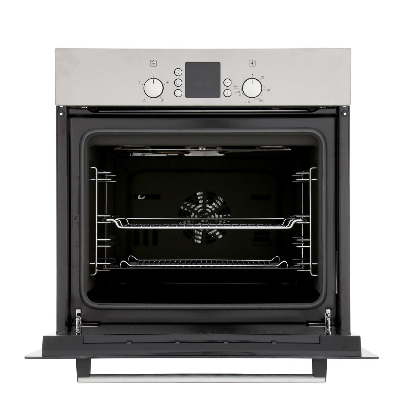 buy bosch serie 2 hbn531e1b single built in electric oven hbn531e1b stainless steel marks. Black Bedroom Furniture Sets. Home Design Ideas