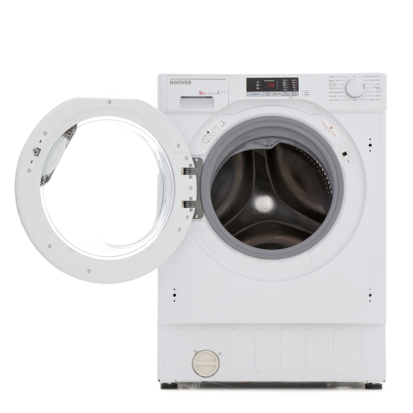 Buy Hoover Hbwm 914sc 80 Integrated Washing Machine