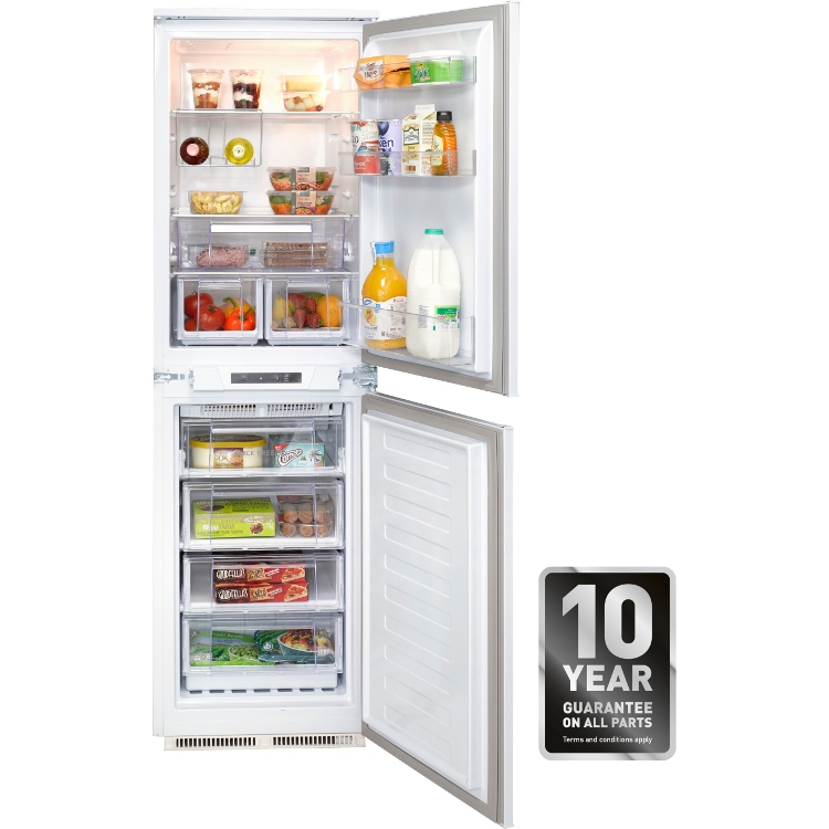 Buy Hotpoint HFF31014 Integrated Fridge Freezer (HFF31014UK) - White | Marks Electrical