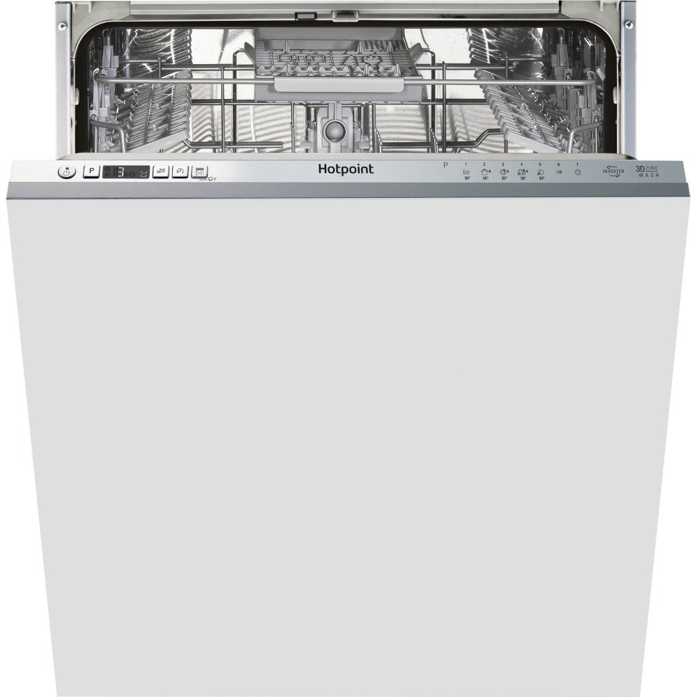 Hotpoint HIC 3C33 CWE UK Built In Fully Integrated Dishwasher