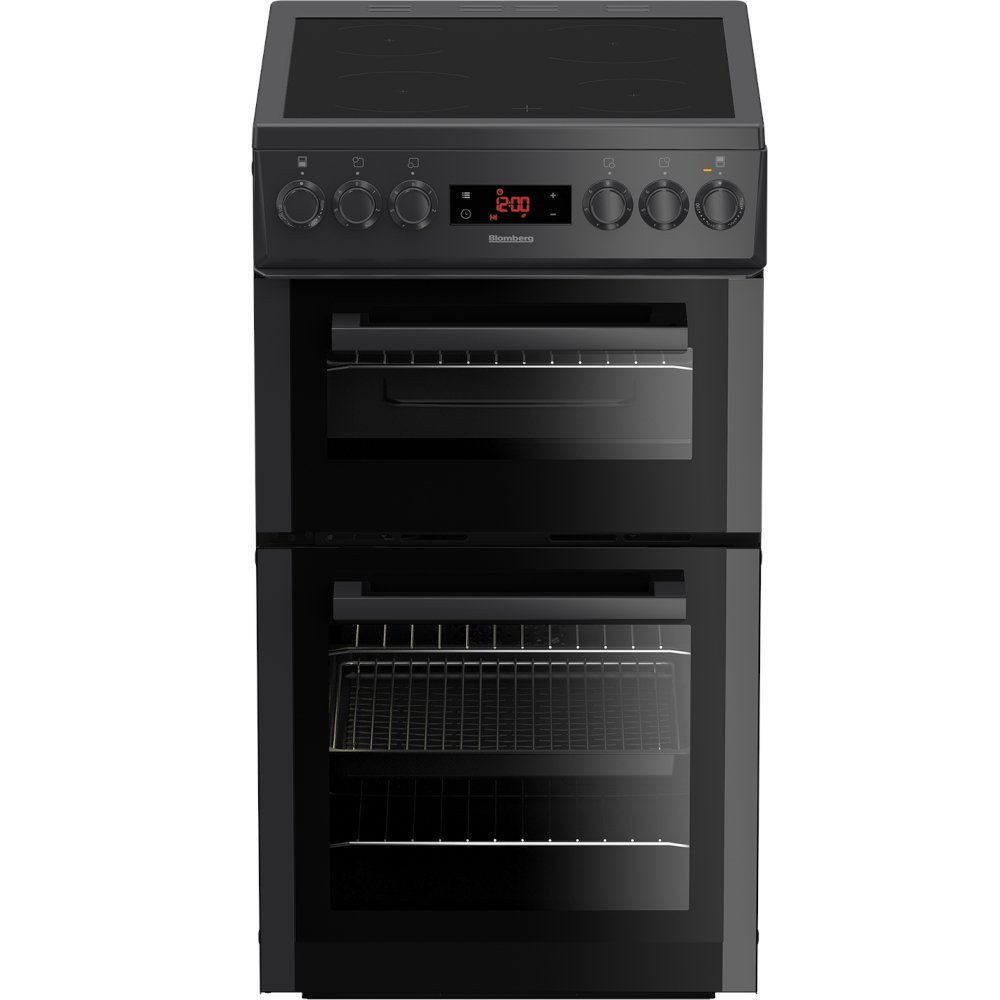 Blomberg HKS900N Ceramic Electric Cooker with Double Oven