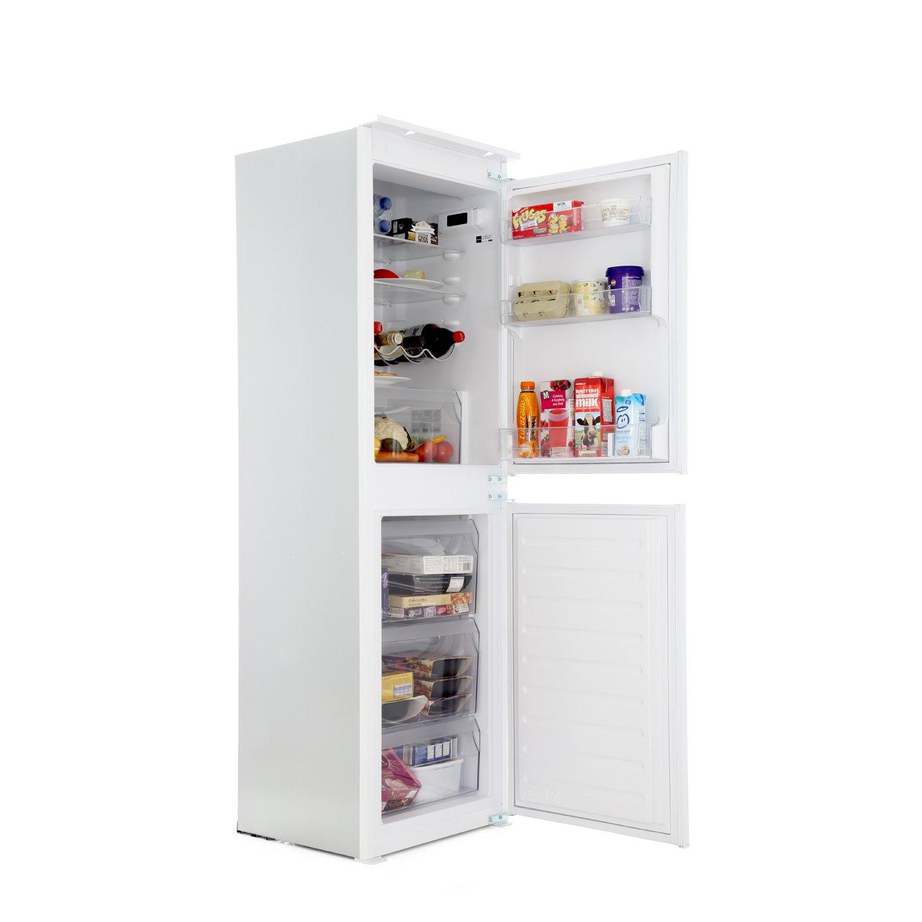 buy hotpoint hmcb50501aa static integrated fridge freezer. Black Bedroom Furniture Sets. Home Design Ideas