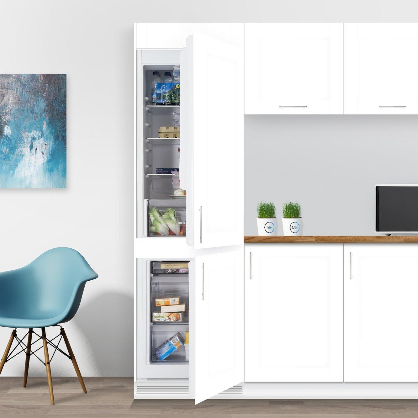 buy hotpoint hmcb7030aa static integrated fridge freezer. Black Bedroom Furniture Sets. Home Design Ideas