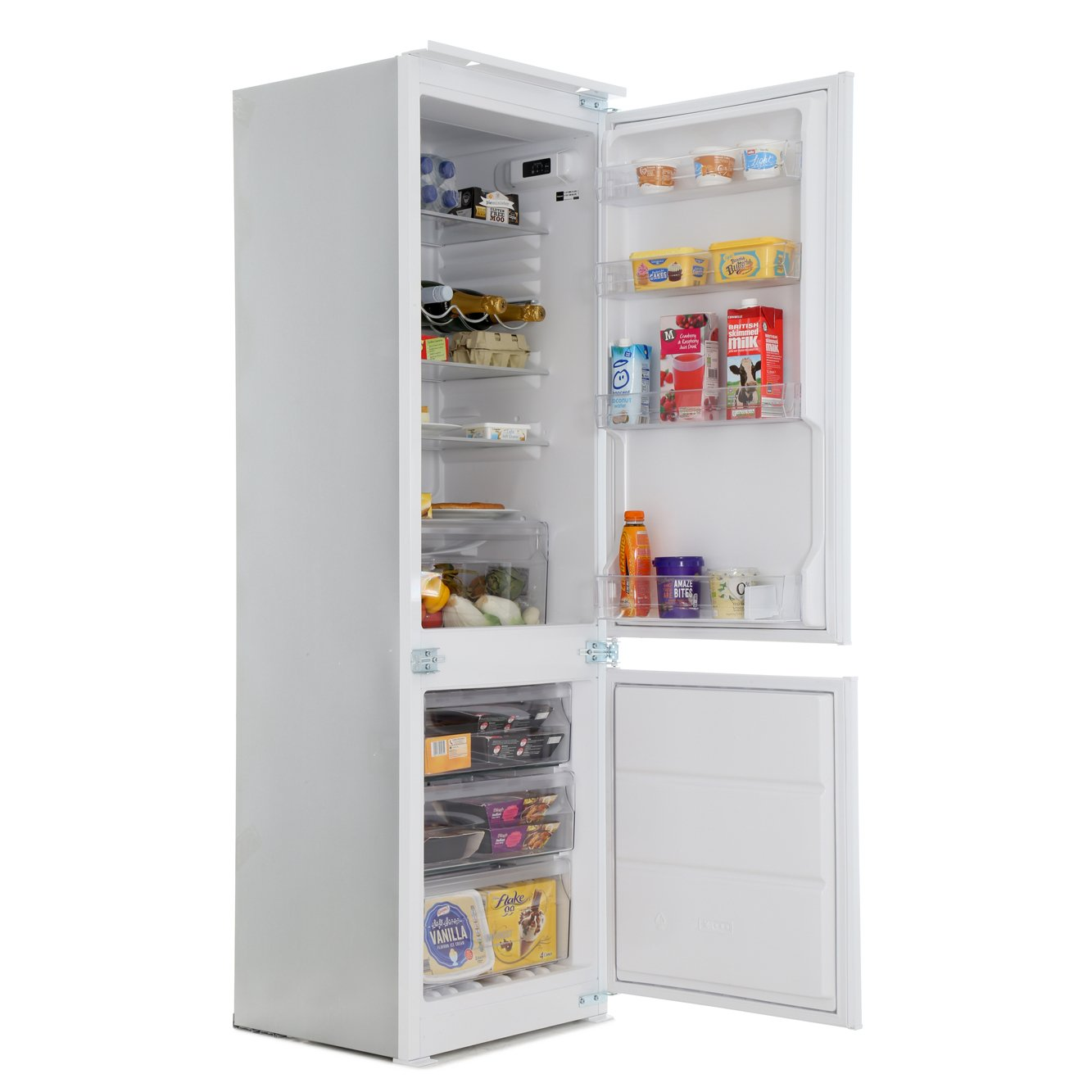 Buy Hotpoint Hmcb7030aadf Frost Free Integrated Fridge