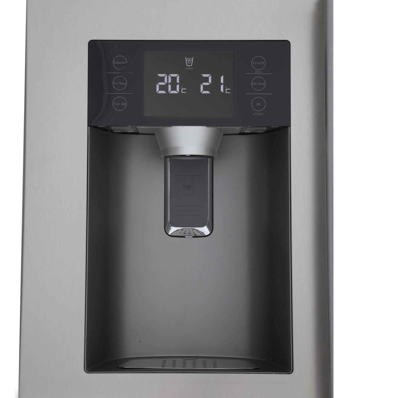 Buy Haier Hrf 628if6 American Fridge Freezer Stainless