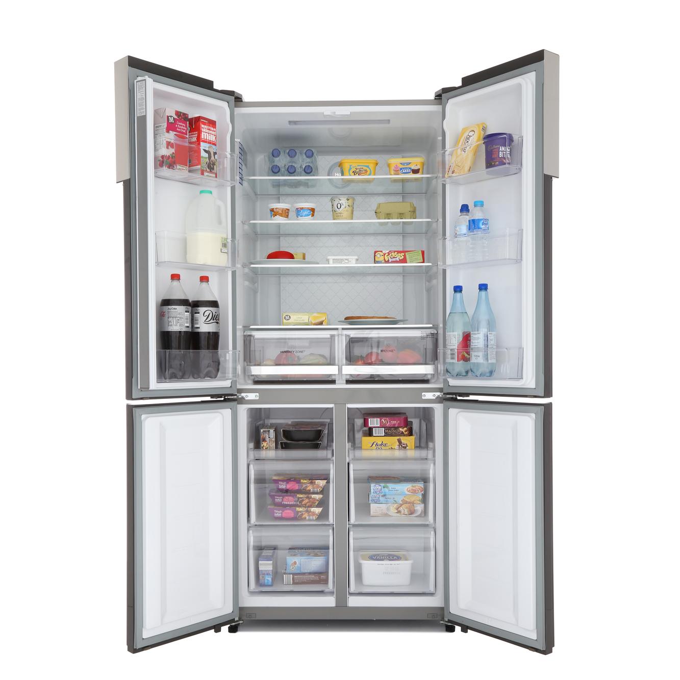 Buy Haier Htf 452dm7 American Fridge Freezer Stainless
