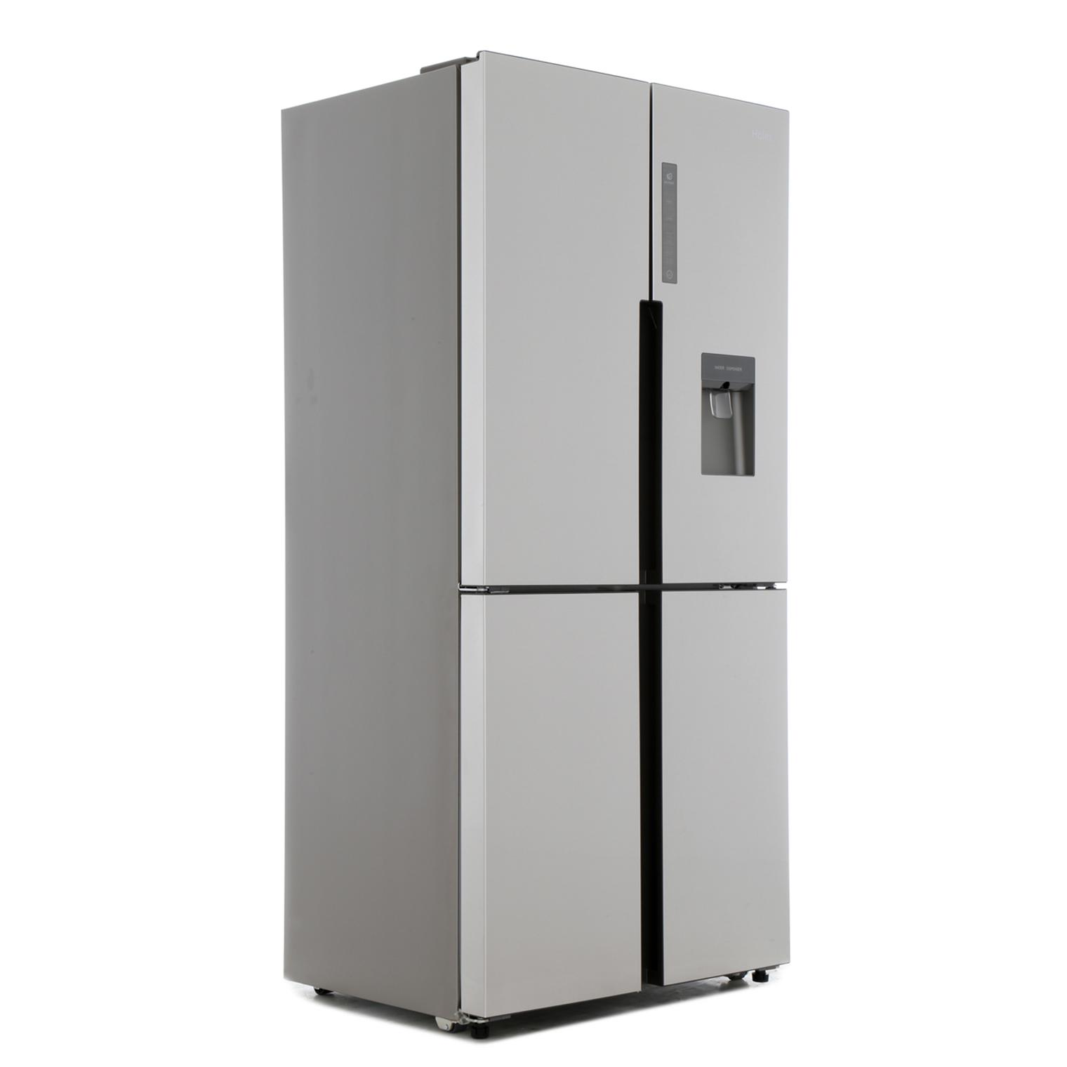 buy haier htf 456wm6 american fridge freezer stainless steel marks electrical. Black Bedroom Furniture Sets. Home Design Ideas