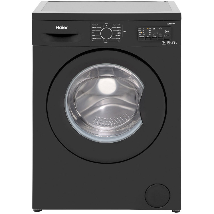 buy haier hw70 14f2 washing machine black marks electrical. Black Bedroom Furniture Sets. Home Design Ideas