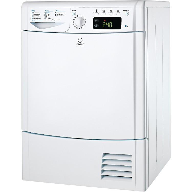 Indesit IDCE 8450 B H (UK) Condenser Dryer