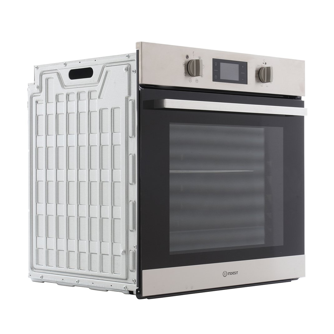Indesit IFW 6340 IX UK Single Built In Electric Oven