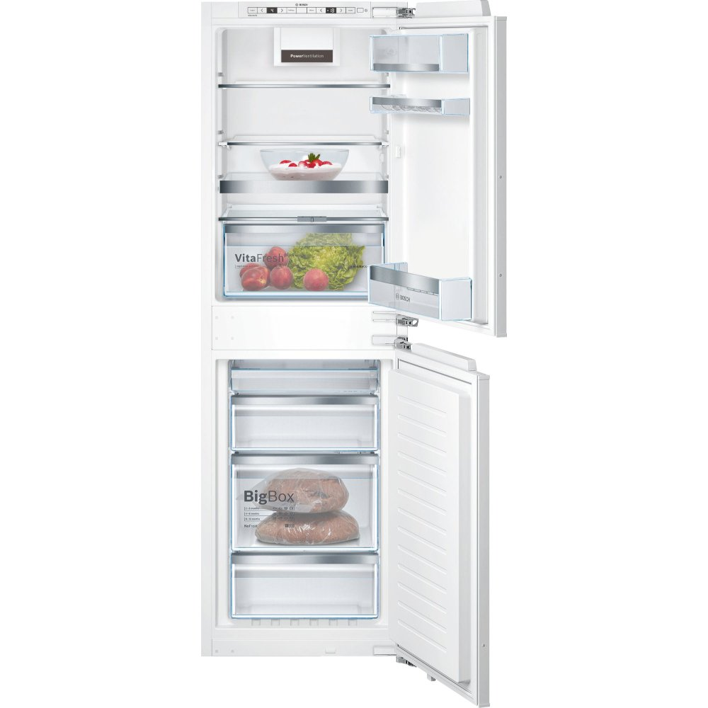 Bosch Serie 6 KIN85AFE0G Frost Free Integrated Fridge Freezer