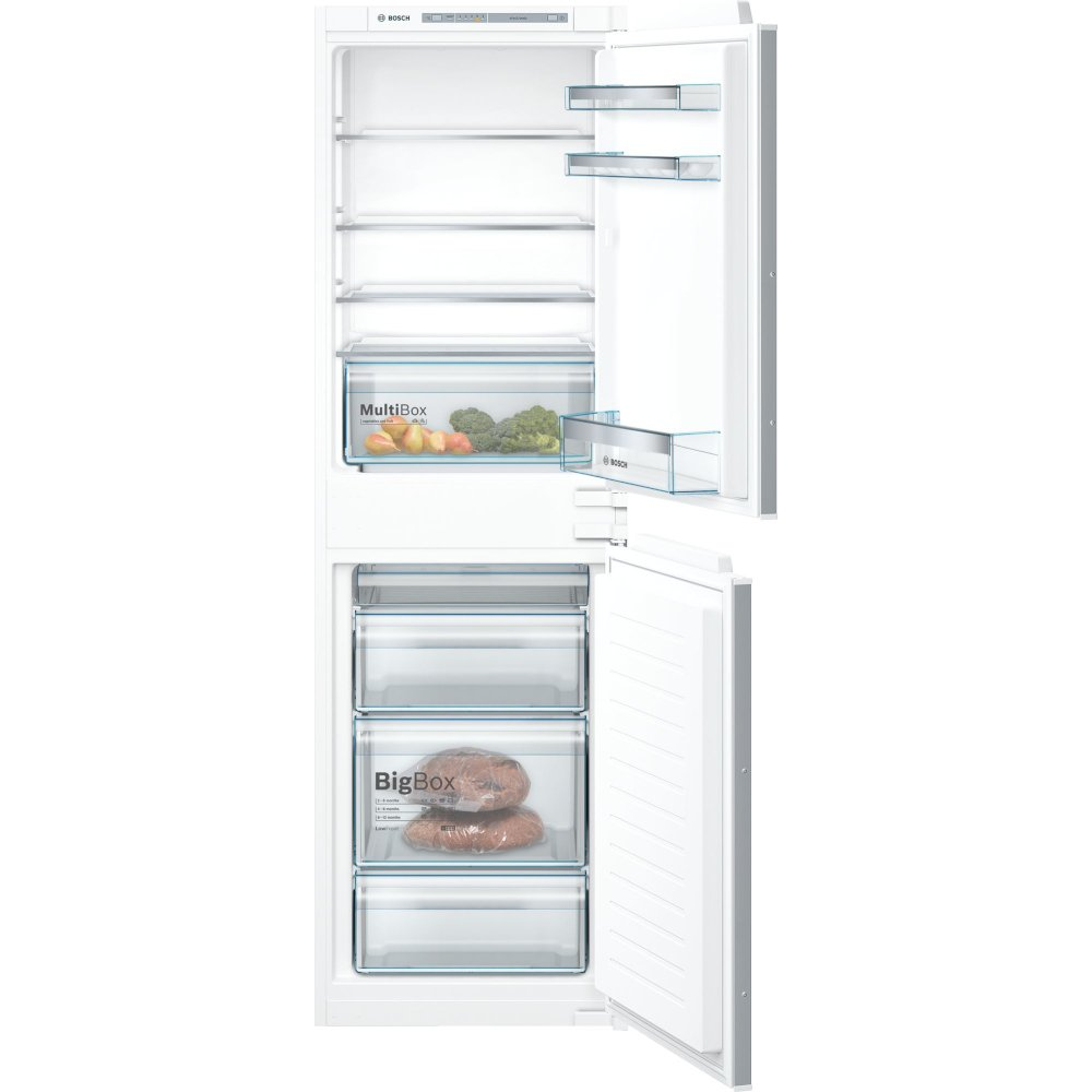 Bosch Serie 4 KIV85VSF0G Low Frost Integrated Fridge Freezer