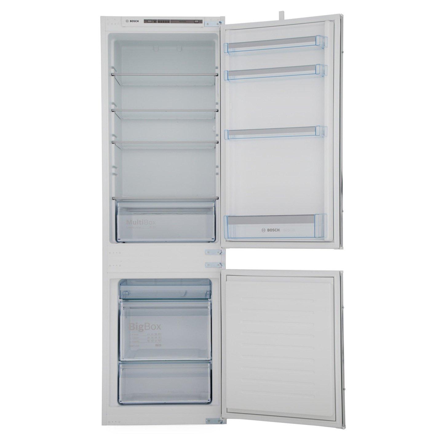buy bosch serie 4 kiv86vs30g integrated fridge freezer kiv86vs30g white marks electrical. Black Bedroom Furniture Sets. Home Design Ideas