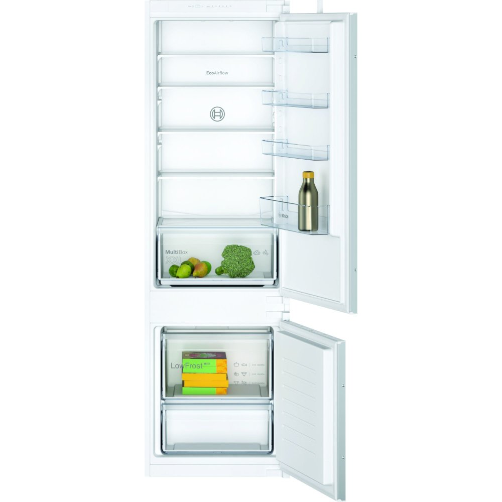 Bosch Serie 2 KIV87NSF0G Low Frost Integrated Fridge Freezer