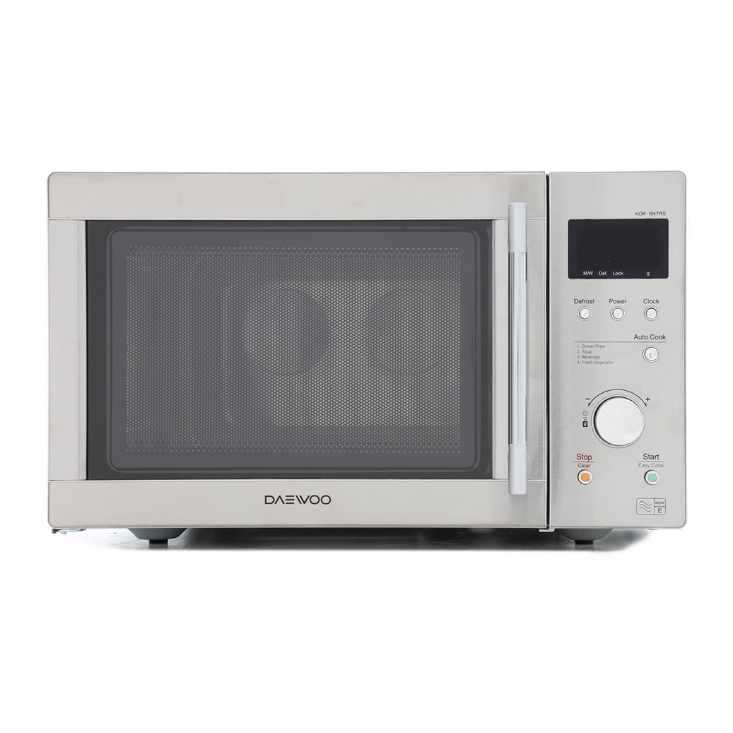 Buy Daewoo KOR6N7RS Microwave - Stainless Steel | Marks Electrical