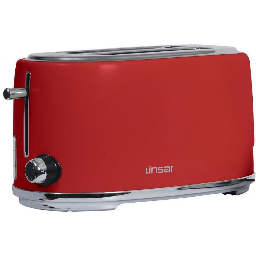 Linsar KY832RED 4 Slice Toaster