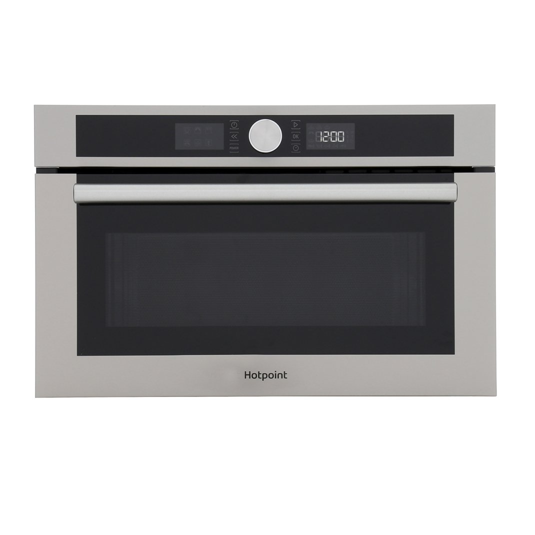 Hotpoint MD 454 IX H Built In Microwave with Grill